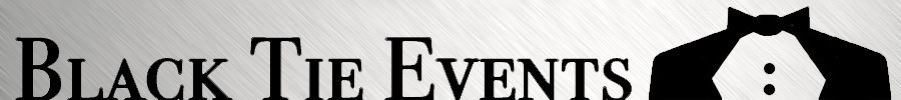 Black Tie Events Logo